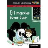 Mats wänblad Böcker Familjen Monstersson. Ett monster sover över (Inbunden, 2012)