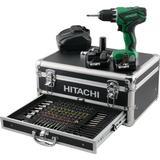 Multigear Boremaskiner og Skruemaskiner Hitachi DS10DAL (2x3.0Ah)