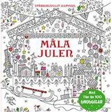 Måla Böcker Måla julen (Kartonnage, 2017)