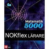 Matematik 5000 1c Böcker NOKflex Matematik 5000 Kurs 1c Blå, Lärare (Övrigt format, 2016)
