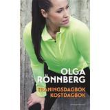 Olga rönnberg Böcker Träningsdagbok & kostdagbok (Spiral, 2015)