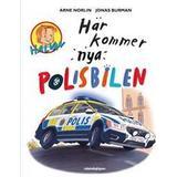 Halvan här kommer arne norlin Böcker Här kommer nya polisbilen (Inbunden, 2016)