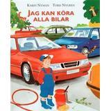 Jag och alla Böcker Jag kan köra alla bilar (Kartonnage, 1999)