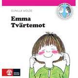 Totte gunilla Böcker Emma tvärtemot (Inbunden, 2014)