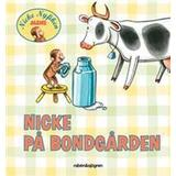 Nicke Böcker Nicke på bondgården (Board book, 2012)