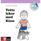 Totte gunilla Böcker Totte leker med kisse (Inbunden, 2014)