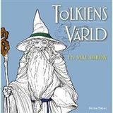 Tolkiens värld Böcker Tolkiens värld: en målarbok (Häftad, 2016)