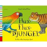 Knasiga djur Böcker Hux-flux-djungel: kolla vilka knasiga djur! (Spiral, 2016)