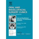 Thomas flynn Böcker Oral and Maxillofacial Infections: 15 Unanswered Questions (Inbunden, 2011)