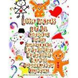 Lär dig skriva Böcker Little Princess god Jul Activity Book För barn Spela och ha kul Lär dig att skriva Lär dig att rita Linje Dots Dekorera med sidor Häng sidorna