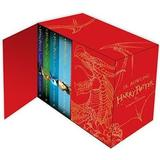 Harry potter böcker engelska Harry Potter Box Set: The Complete Collection Children's Hardback (Övrigt format, 2014)