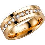 Ringar Schalins Northern Lights Corona Gold Ring w. Diamond