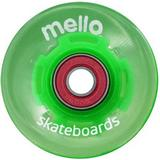 Cruiserhjul Mellow Green Ice LED 59mm 78A 4-pack