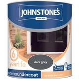 Primer Paint Johnstones Weatherguard Exterior Undercoat Wood Paint, Metal Paint Grey 0.75L