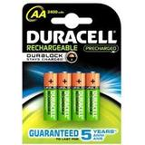 AA (LR6) Batterier och Laddbart Duracell AA Rechargeable 2500mAh Compatible 2-pack