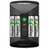 AA (LR6) Batterier och Laddbart Energizer Recharge Pro Charger