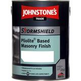 Paint Johnstone's Trade Stormshield Pliolite Based Masonry Finish Cement Paint Beige 5L