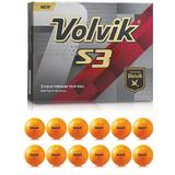 Golf Volvik S3 (12 pack)