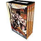Attack on titan manga Böcker Attack On Titan Season 1 Part 2 Manga Box Set