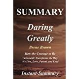 Brene brown Böcker Summary - Daring Greatly: Book by Brene Brown - How the Courage to Be Vulnerable Transforms the Way We Live, Love, Parent, and Lead (Daring Greatly: A ... - Hardcover, Audiobook, Audible, Summary 1)