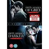 Fifty shades of grey dvd Filmer Fifty Shades Darker + Fifty Shades of Grey DVD Double Pack