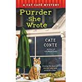 Cat cafe Böcker Purrder She Wrote: A Cat Cafe Mystery