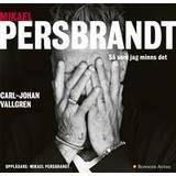Persbrandt Böcker Mikael Persbrandt: Så som jag minns det (Ljudbok nedladdning, 2018)