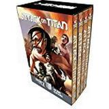 Attack on titan manga Böcker Attack On Titan Season 2 Manga Box Set