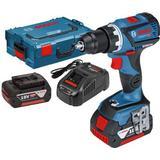 Batteri Boremaskiner og Skruemaskiner Bosch GSR 18V-60 C Professional (2x4.0Ah)