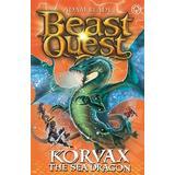 Dragon blade Böcker Korvax the Sea Dragon: Series 19 Book 2 (Beast Quest)