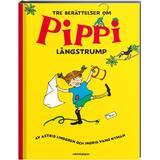 Pippi bok Tre berättelser om Pippi Långstrump (Inbunden, 2018)