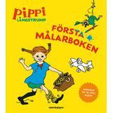 Pippi bok Pippi Långstrump - Första målarboken (Övrigt format, 2018)