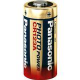 Batterier och Laddbart Panasonic CR123A