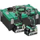 Batteri - Bore-/skruemaskinesæt Hitachi KC18DBDL Set (2x5.0Ah)