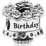 Berlocker och hängen Pandora Birthday Cake Sterling Silver Bead Charm (791289)
