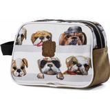 Necessärer och Sminkväskor Pick & Pack Dogs Toiletry Bag - Beige
