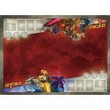 Tillbehör för sällskapsspel Fantasy Flight Games KeyForge Archeticts Vault Two-Player Gamemat