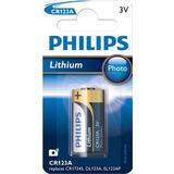 Batterier och Laddbart Philips CR123A/01B