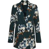 Blazers Women's Clothing price comparison Gestuz Fala Blazer - Deep Pine FLower