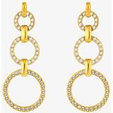 Långa örhängen Dyrberg/Kern Neema Stainless Steel Earrings w. Crystal (351630)