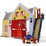 Brandman Sam Leksaker Simba Brandstation Fire Station with Figure