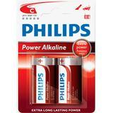 Batterier och Laddbart Philips LR14P2B 2-pack