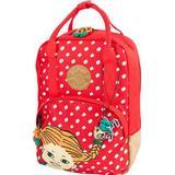 Ryggsäckar - Läder Ryggsäckar Pippi Retro - Red