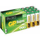 AA (LR6) Batterier och Laddbart GP Batteries AA Super Alkaline Compatible 24-pack
