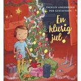 Angerborn Böcker En klurig jul: julsaga i 24 kapitel (Inbunden)