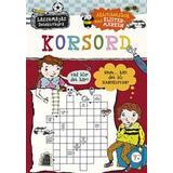 Korsord Böcker Korsord: aktivitetsbok med klistermärken (Häftad)