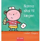 Nanna Böcker Nanna skal til lægen (Kartonnage, 2009)