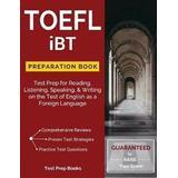 Toefl ibt Böcker TOEFL IBT Preparation Book (Häftad, 2017)