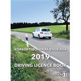 Driving licence book Böcker Körkortsboken på Engelska 2019: driving licence book (Häftad)
