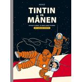 Tintin i Böcker Tintin på Månen Det samlede eventyr (Kartonnage, 2019)